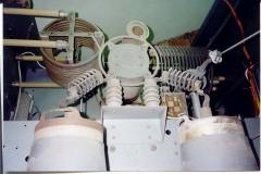 Interno trasmettitore 12kw Rai laboratorio