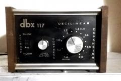 Compressore audio DBX 117